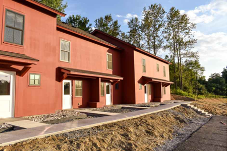 Affordable housing units.